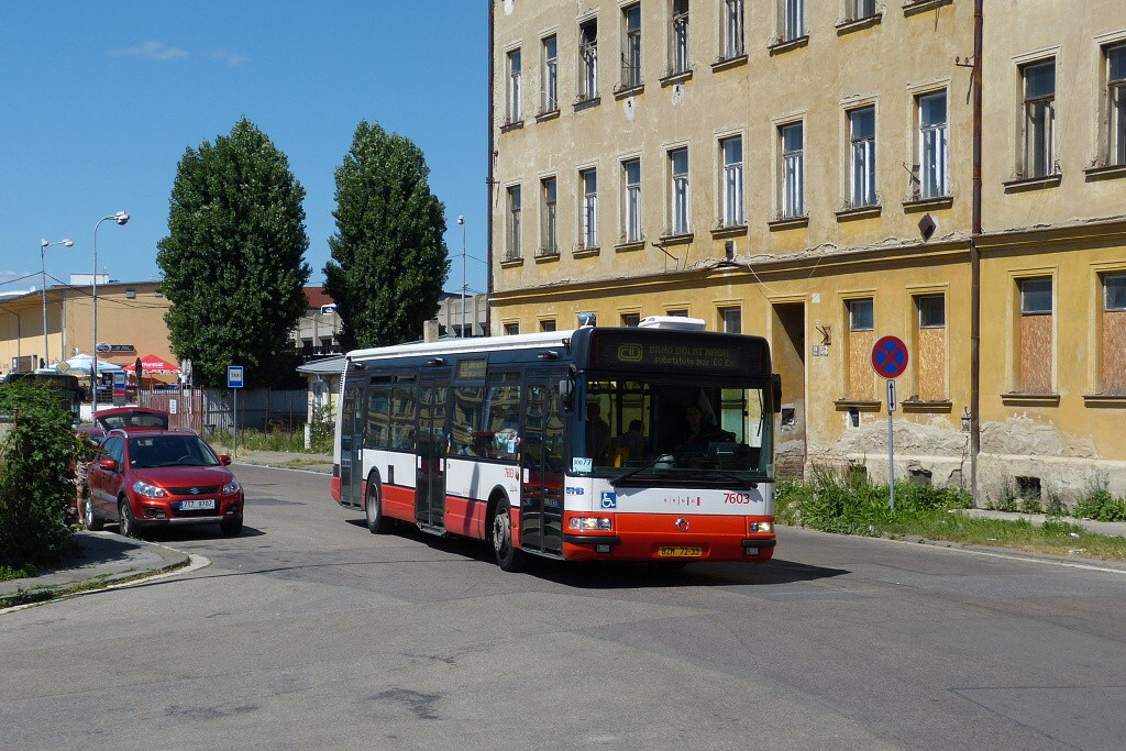 Fotogalerie » Irisbus Citybus 12M 2071.20 BZM 72-33 7603 | Brno | Střed | Rosická