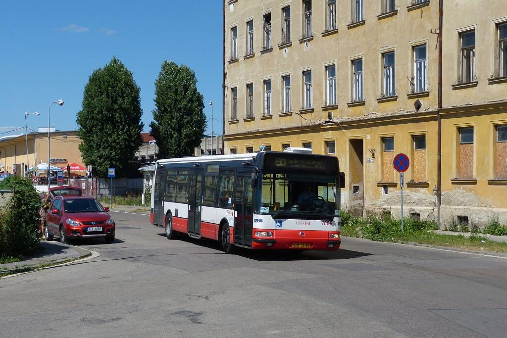 Fotogalerie » Irisbus Citybus 12M 2071.20 BZM 72-38 7608   Brno   Střed   Rosická