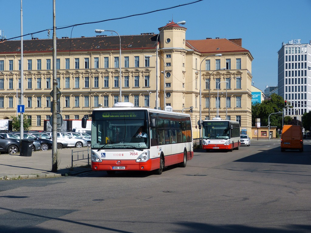Fotogalerie » Irisbus Citelis 12M 6B6 6854 7654   Brno   Střed   Trnitá