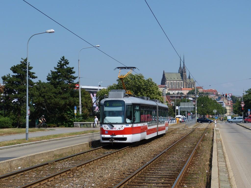 Fotogalerie » Pragoimex VarioLF2R.E 1078 | Brno | Štýřice | Renneská třída