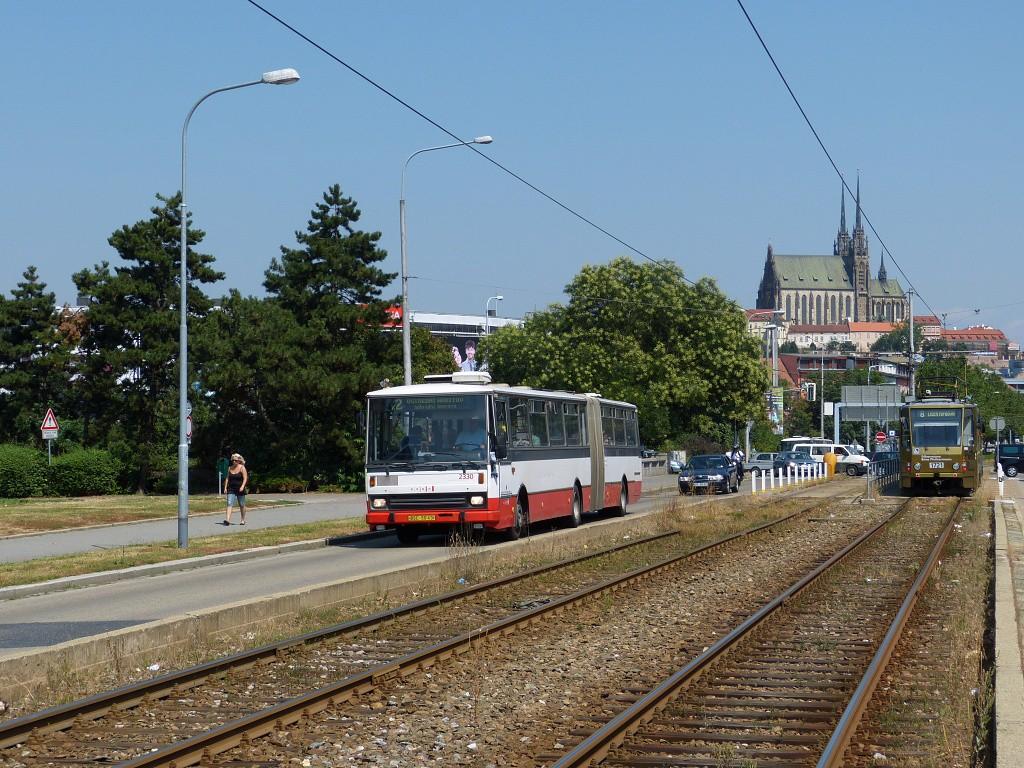 Fotogalerie » Karosa B741.1924 BSC 50-43 2330 | Brno | Střed | Renneská třída