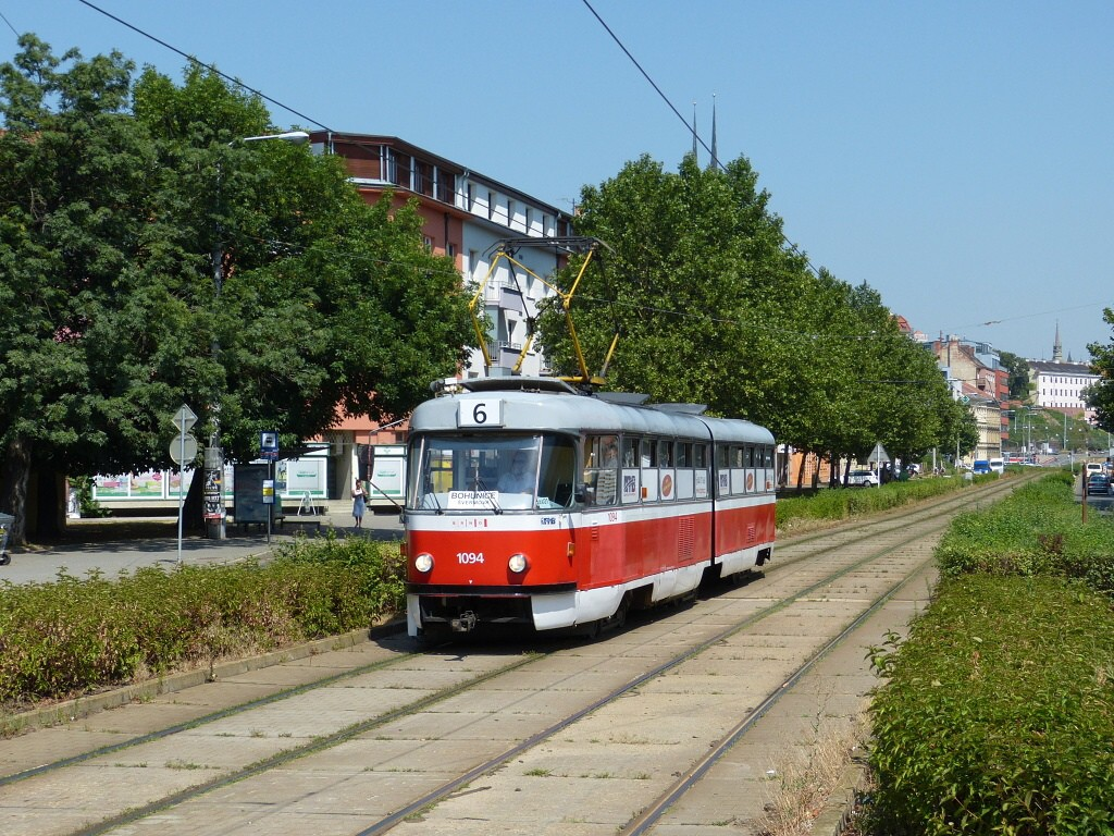 Fotogalerie » ČKD Tatra K2 1094 | Brno | střed | Nové sady