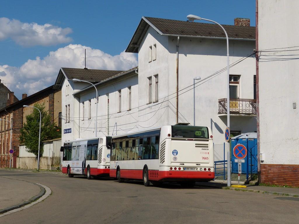 Fotogalerie » Irisbus Citelis 12M 6B6 6843 7665 | Brno | Střed | Rosická