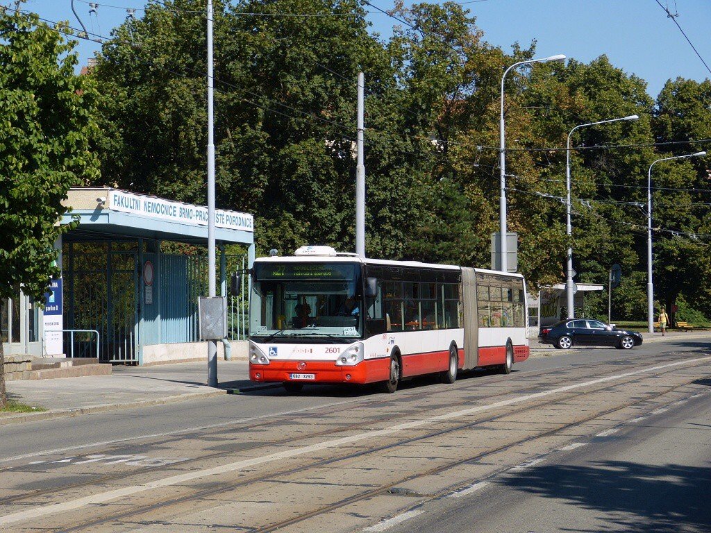 Fotogalerie » Irisbus Citelis 18M 5B2 3293 2601   Brno   střed   Údolní
