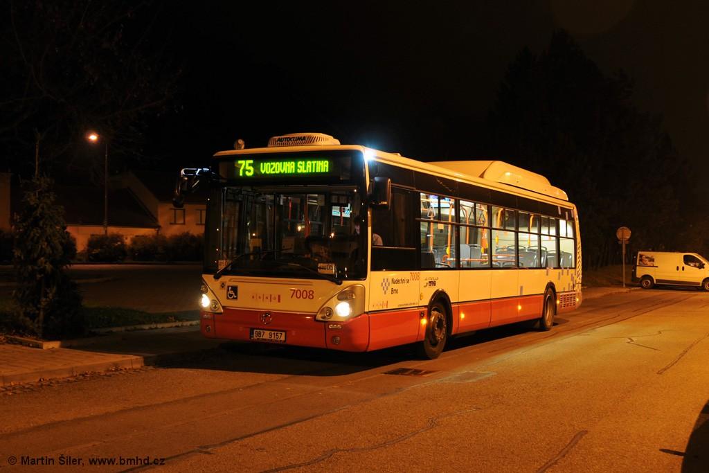 Fotogalerie » Irisbus Citelis 12M CNG 9B7 9157 7008 | Brno | Obřany | Výpustky | Obřany, sídliště