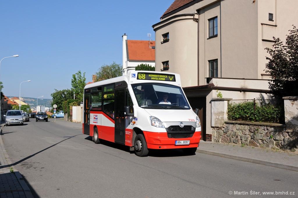 Fotogalerie » SKD Iveco Stratos LF 38 D 9B4 8097 7509 | Brno | Masarykova čtvrť | Mahenova