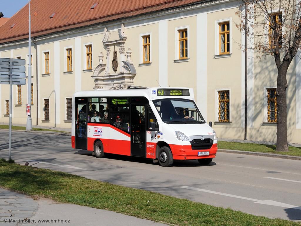 Fotogalerie » SKD Iveco Stratos LF 38 D 9B4 8097 7509 | Brno | Královo Pole | Božetěchova