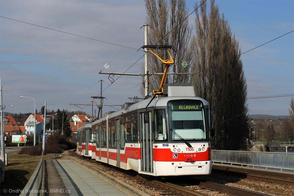 Fotogalerie » Pragoimex VarioLF2R.E 1106 | Pragoimex VarioLFR.E 1597 | Brno | Bystrc | Kníničská