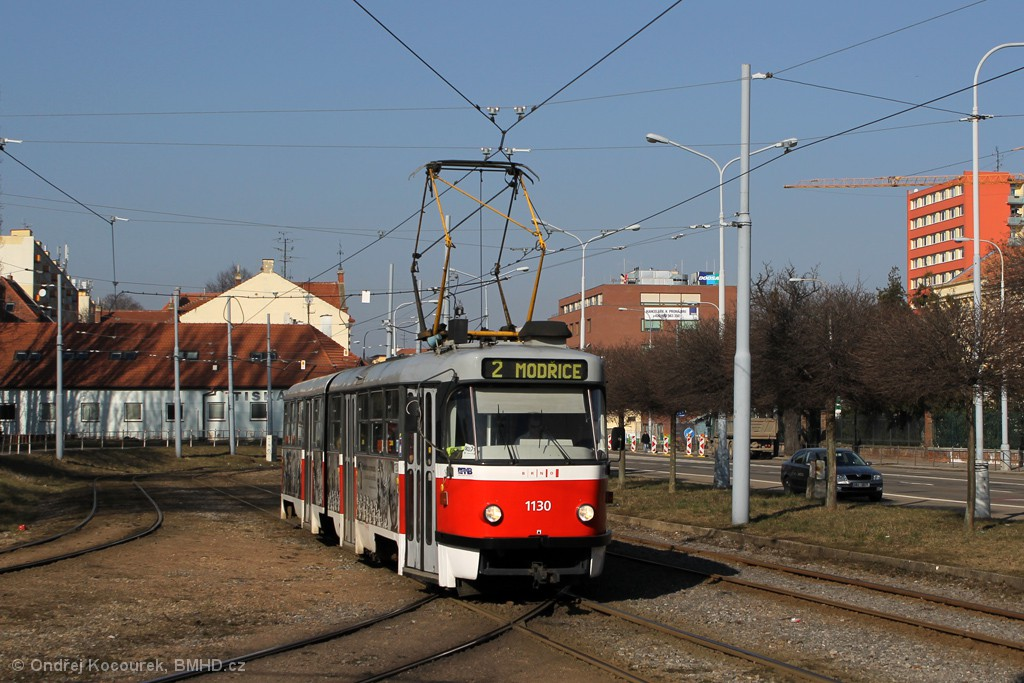 Fotogalerie » ČKD Tatra K2 1130   Brno   Štýřice   Vídeňská