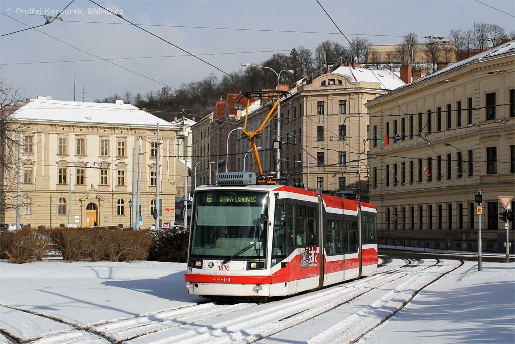 Fotogalerie » Škoda 03T6 1810 | Brno | Staré Brno | Mendlovo náměstí
