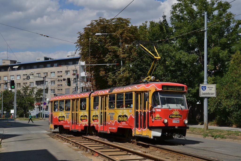 Fotogalerie » ČKD Tatra K2P 1116 | Brno | Žabovřesky | Veveří