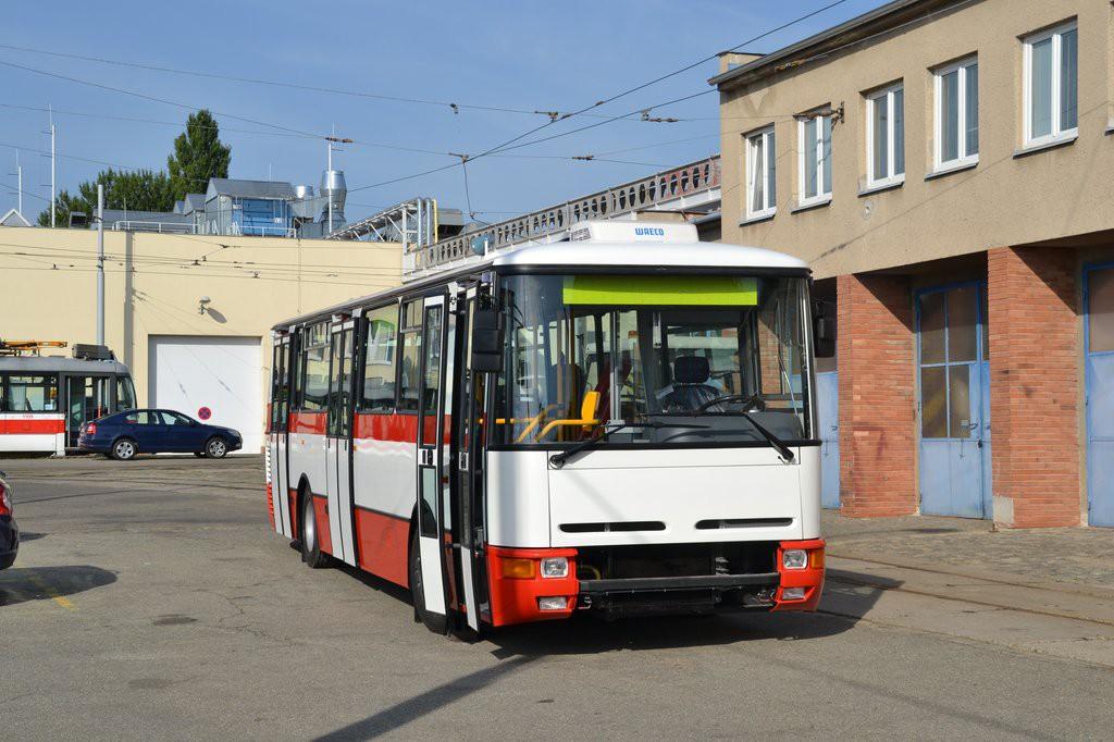 Fotogalerie » Karosa B931E.1707 BSE 94-75 7460   Brno   Ústřední dílny