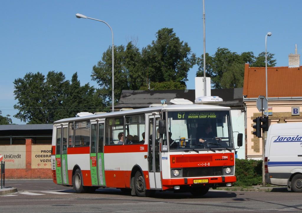 Fotogalerie » Karosa B732.1654.3 BSC 38-97 7394   Brno   Trnitá   Dornych