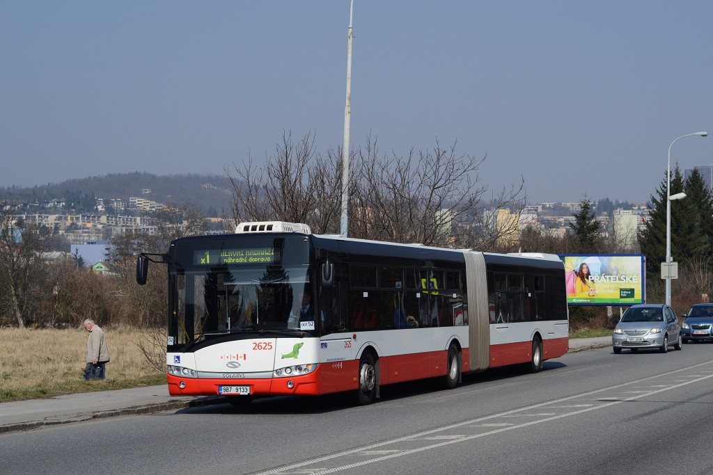 Fotogalerie » Solaris Urbino 18 III 9B7 9133 2625   Brno   Žabovřesky   Žabovřeská   Bráfova