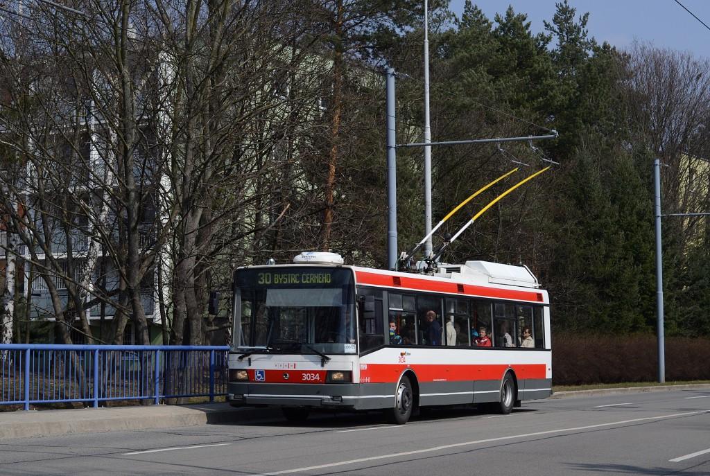 Fotogalerie » Škoda 21Tr 3034   Brno   Žabovřesky   Královopolská