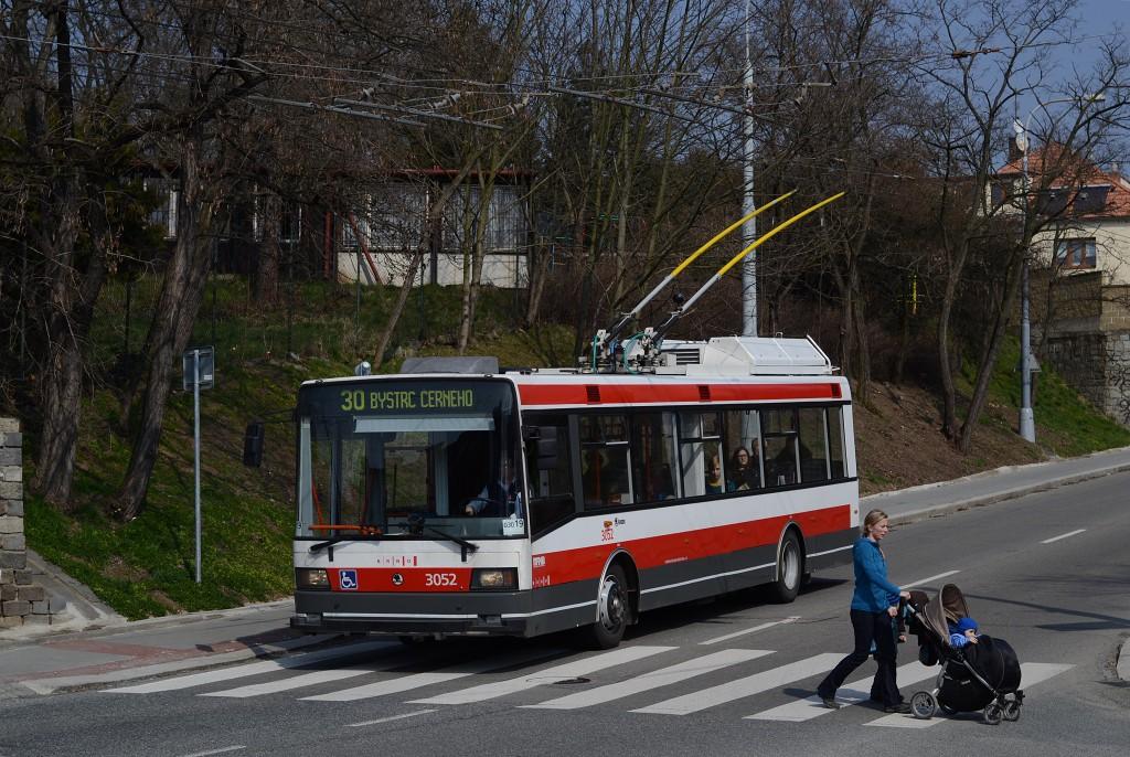 Fotogalerie » Škoda 21Tr 3052 | Brno | Komín | Kroftova