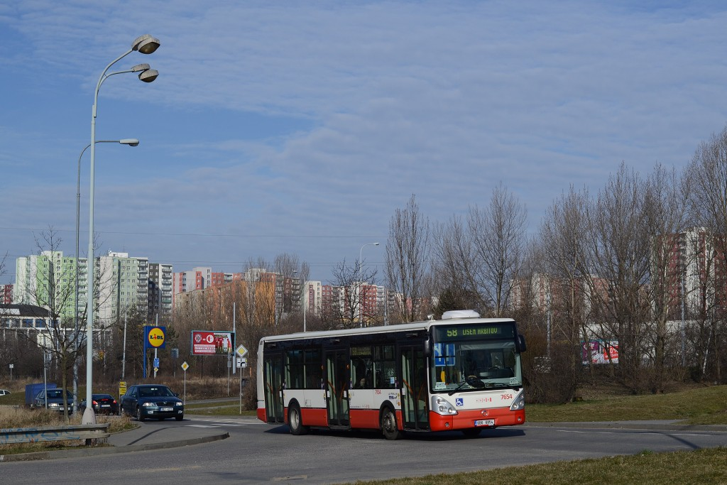 Fotogalerie » Irisbus Citelis 12M 6B6 6854 7654 | Brno | Líšeň | Trnkova | Zetor, silnice