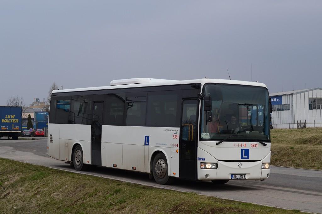 Fotogalerie » Irisbus Crossway 12M 8B4 3153 5331 | Brno | Horní Heršpice | K Terminálu | K Terminálu