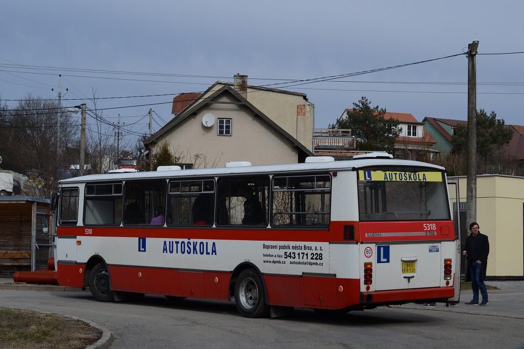 Fotogalerie » Karosa B732.1654 BSD 09-12 5318 | Vranov | Kateřinská | Vranov, smyčka