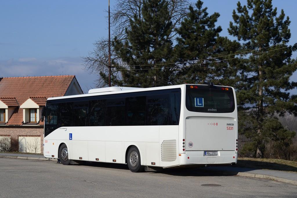 Fotogalerie » Irisbus Crossway 12M 8B4 3153 5331   Rebešovice   Chrlická   Rebešovice