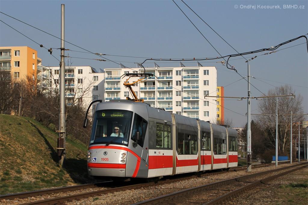Fotogalerie » Škoda 13T1 1905 | Brno | Bohunice
