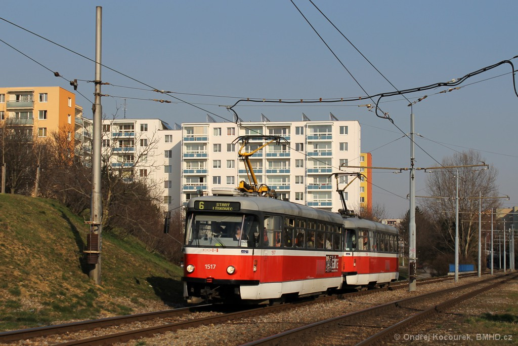 Fotogalerie » Pragoimex T3R.PV 1517 | Pragoimex T3R.PV 1558 | Brno | Bohunice