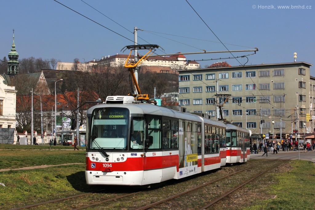Fotogalerie » Pragoimex VarioLF2R.E 1094 | Pragoimex VarioLFR.E 1597 | Brno | Staré Brno | Veletržní