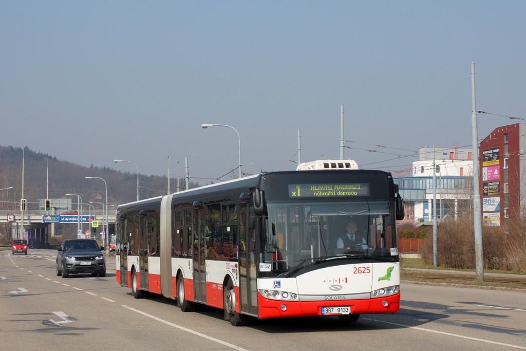 Fotogalerie » Solaris Urbino 18 III 9B7 9133 2625 | Brno | Komín | Kníničská