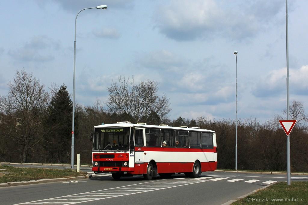 Fotogalerie » Karosa B732.40 BSB 62-30 7273 | Brno | Lesná | Okružní