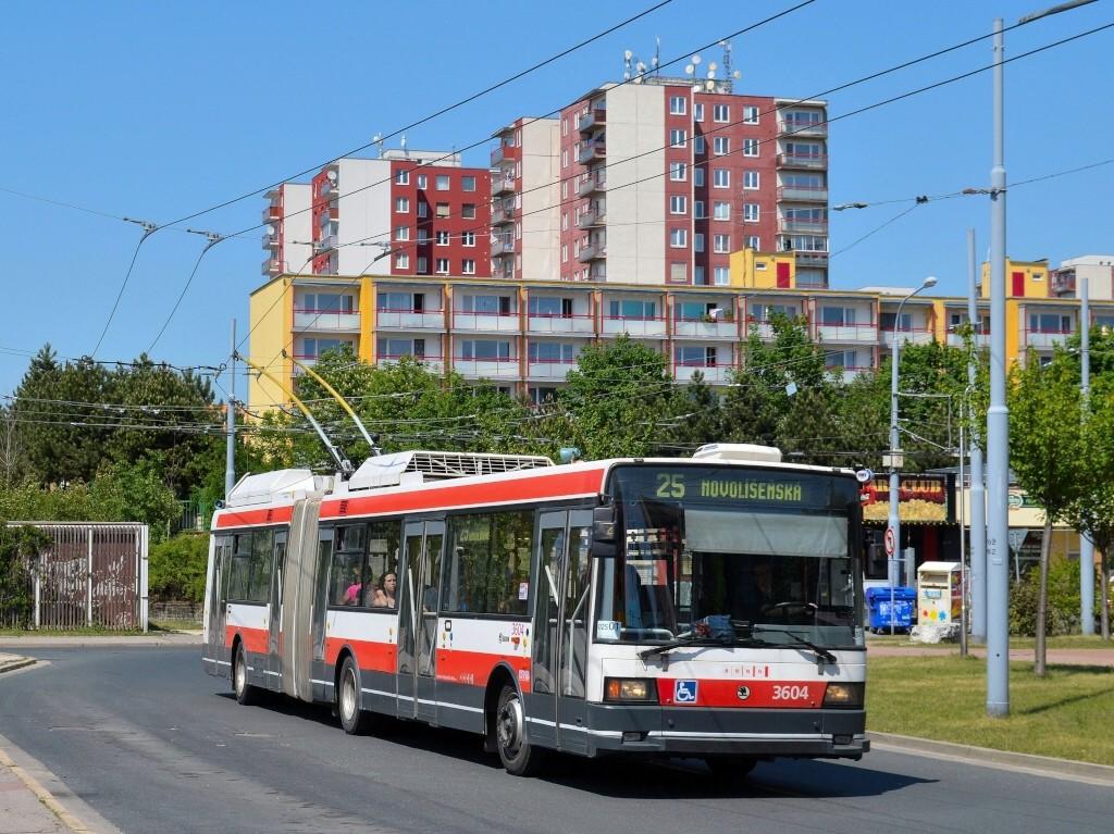 Fotogalerie » Škoda 22Tr 3604 | Brno | Vinohrady | Pálavské náměstí | Pálavské náměstí