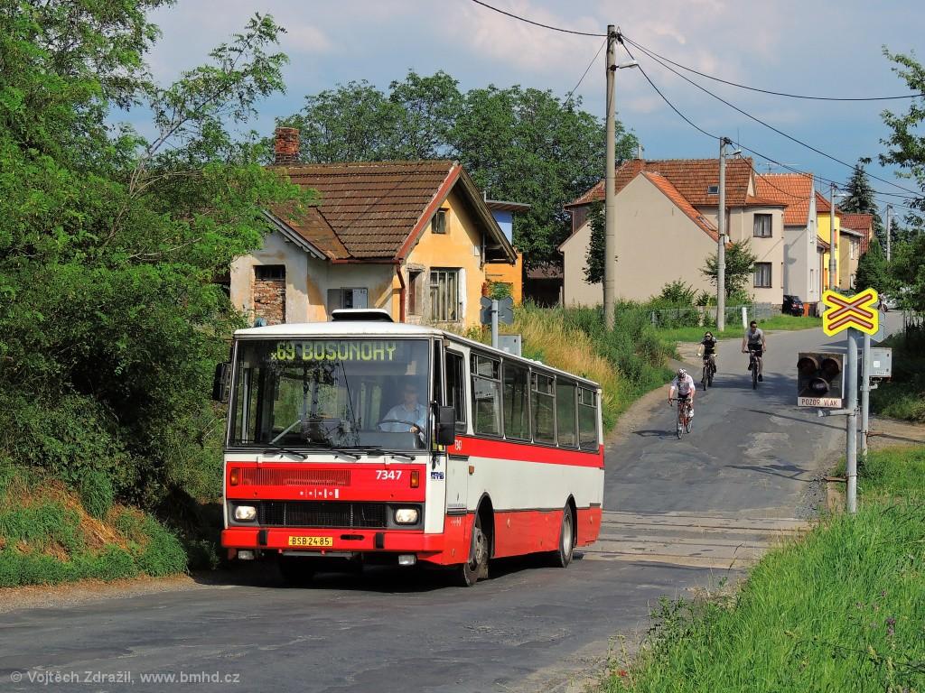 Fotogalerie » Karosa B732.1654 BSB 24-85 7347 | Troubsko | Ostopovická