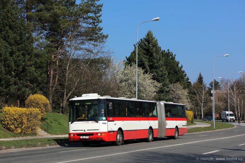 Fotogalerie » Karosa B961E.1970 2B4 9313 2373 | Brno | Lesná | Okružní
