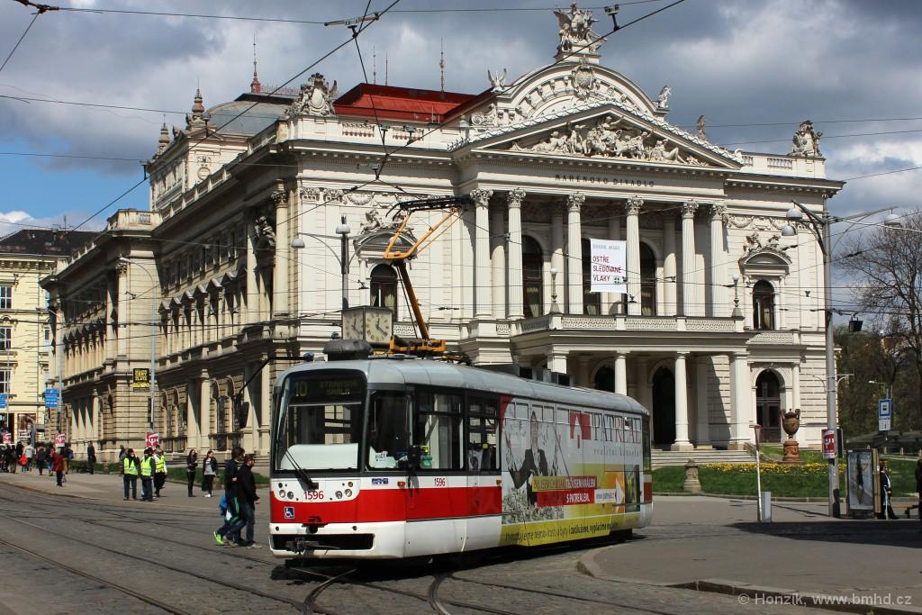 Fotogalerie » Pragoimex VarioLFR.E 1596 | Brno | střed | Malinovského náměstí