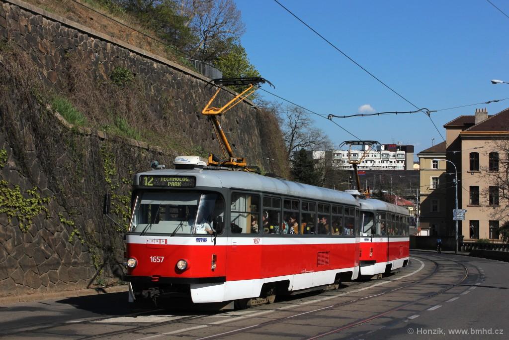 Fotogalerie » Pragoimex T3R.PV 1657 | Pragoimex T3R.PV 1658 | Brno | střed | Husova