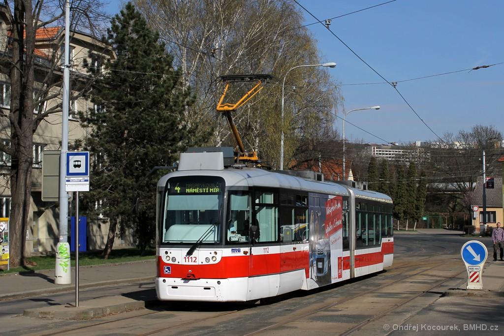Fotogalerie » Pragoimex VarioLF2R.E 1112 | Brno | Maloměřice | Dolnopolní | Maloměřický most