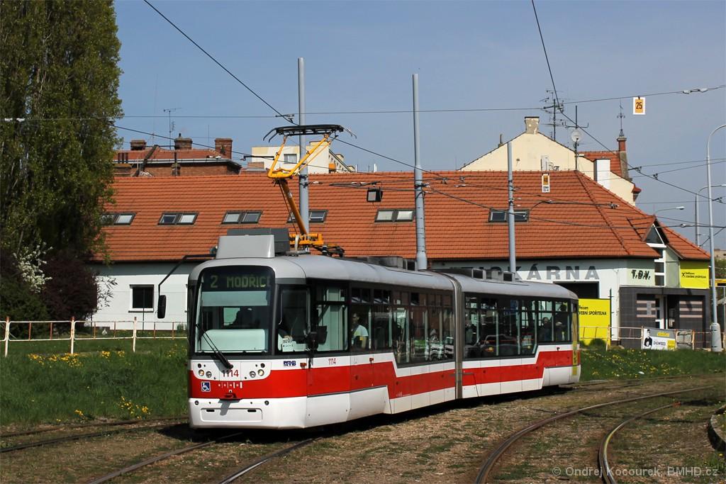 Fotogalerie » Pragoimex VarioLF2R.E 1114 | Brno | Štýřice | Vídeňská