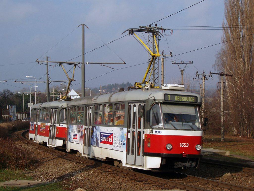 Fotogalerie » Pragoimex T3R.PV 1653 | Pragoimex T3R.PV 1654 | Brno | Komín | Kníničská