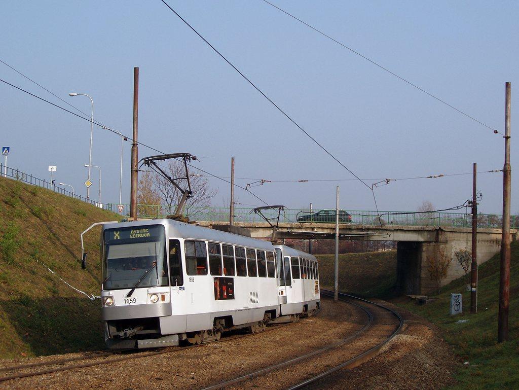Fotogalerie » ČKD DS T3R 1659 | ČKD DS T3R 1660 | Brno | Bystrc