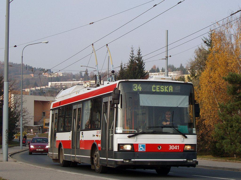 Fotogalerie » Škoda 21TrIGCT 3041 | Brno | Žabovřesky | Korejská