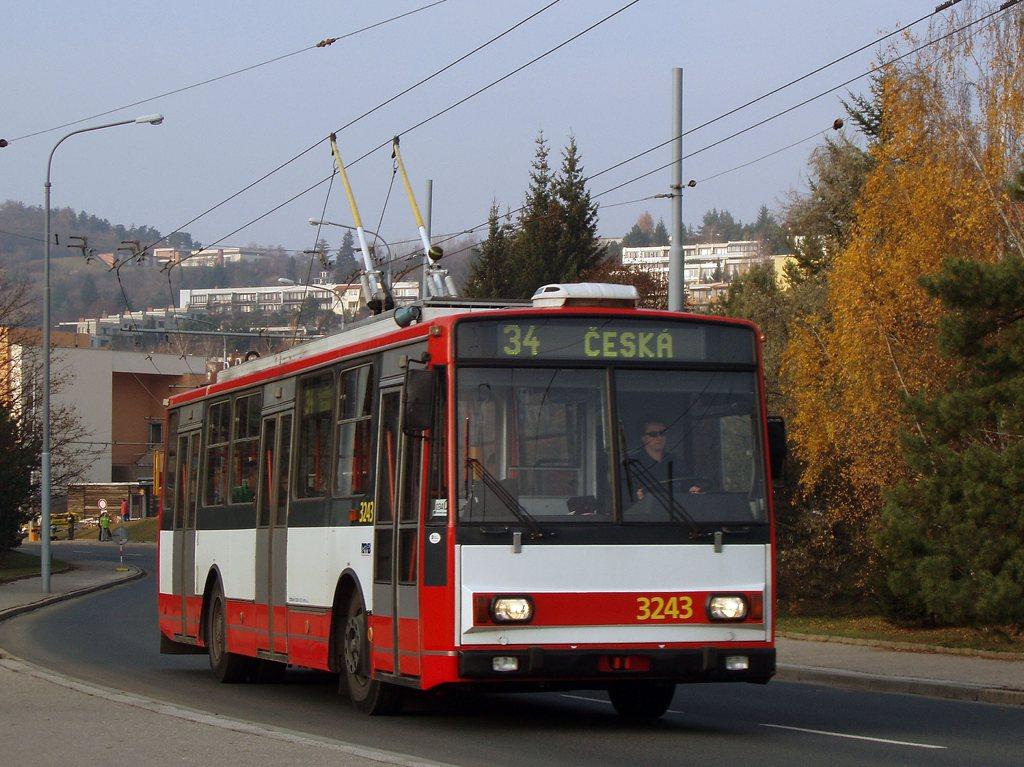 Fotogalerie » Škoda 14TrR 3243 | Brno | Žabovřesky | Korejská