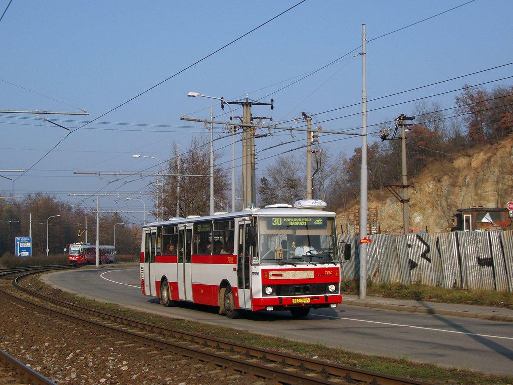 Fotogalerie » Karosa B732.1654.3 7392 | Brno | Komín | Bystrcká