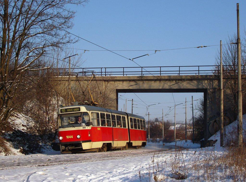 Fotogalerie » ČKD Tatra K2T 1044 | Brno | Ostravská