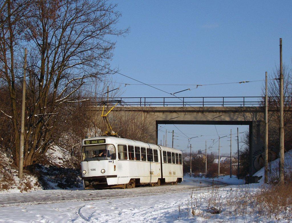 Fotogalerie » ČKD Tatra K2P 1086 | Brno | Ostravská
