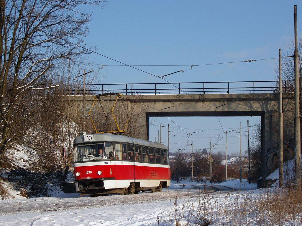 Fotogalerie » ČKD Tatra T3 1539 | Brno | Ostravská