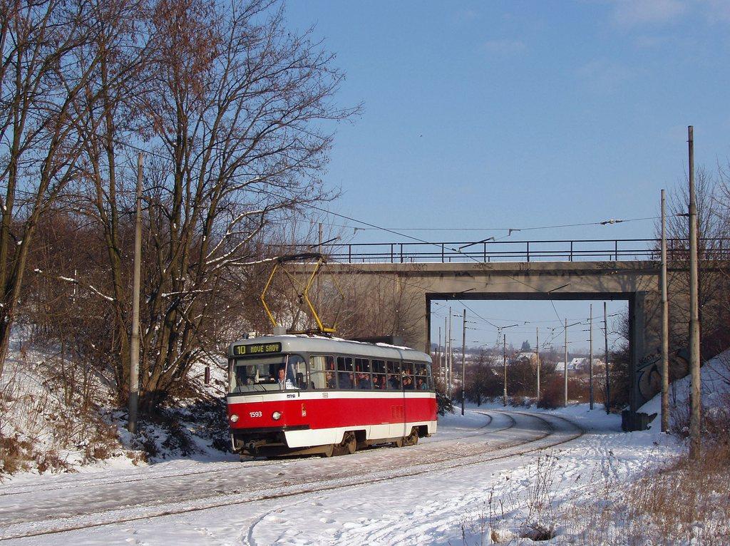 Fotogalerie » ČKD Tatra T3M 1593 | Brno | Ostravská