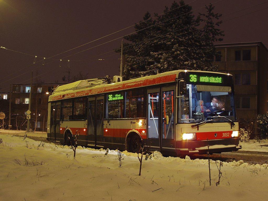Fotogalerie » Škoda 21Tr 3032 | Brno | Žabovřesky | Jindřichova