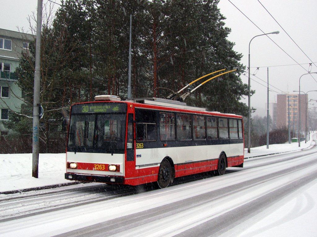 Fotogalerie » Škoda 14TrR 3263 | Brno | Bystrc | Černého