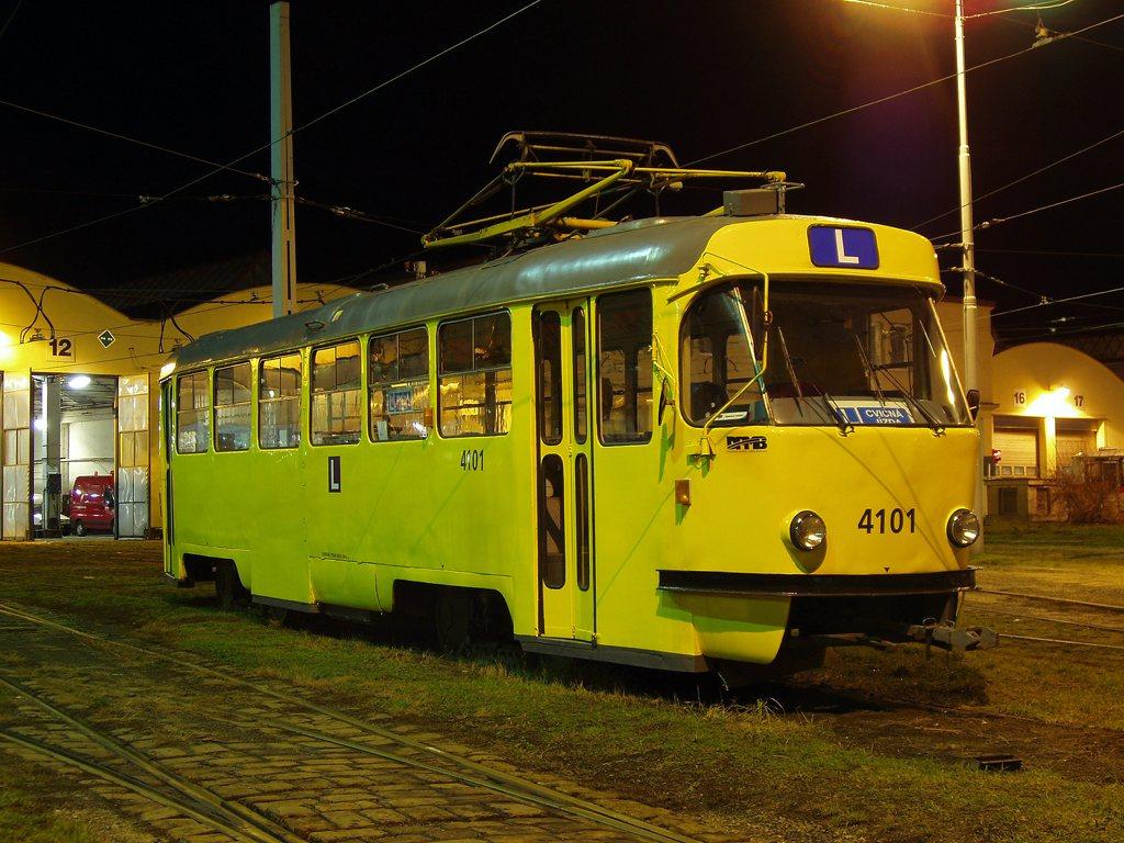 Fotogalerie » ČKD Tatra T3 školní 4101 | Brno | vozovna Medlánky