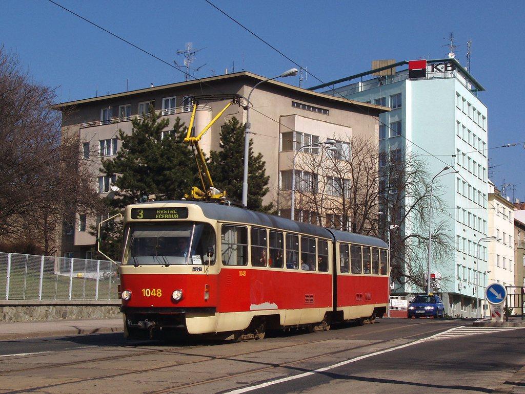 Fotogalerie » ČKD Tatra K2P 1048 | Brno | střed | Milady Horákové