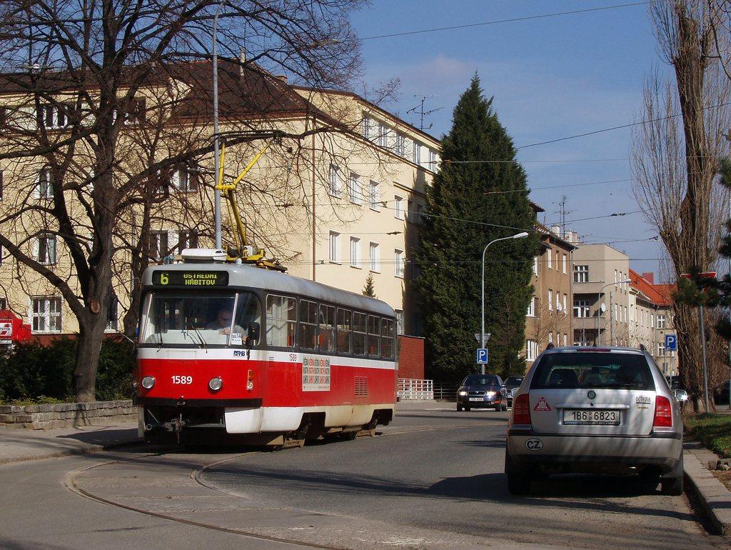 Fotogalerie » ČKD Tatra T3P 1589 | Brno | Černá Pole | Zemědělská